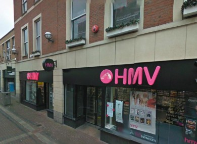 Cruise's Street branch of HMV, Limerick
