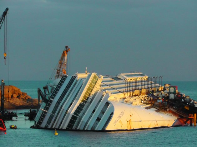 Italy Ship Aground