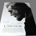 """Lincoln"" poster signed by Daniel Day-Lewis and Steven Spielberg"
