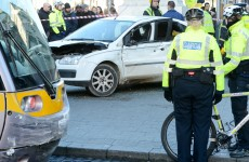 Two incidents involving Luas in Dublin city centre