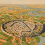 Mari was the robust trade capital of Mesopotamia, central in moving stone, timber, agricultural goods and pottery throughout the region.