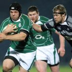 Ross made his senior debut in May 2009 but was not the established Ireland tighthead until the 2011 Six Nations (©INPHO/Lorraine O'Sullivan).