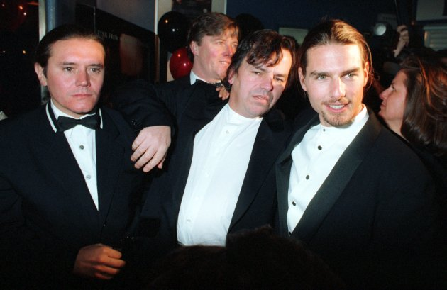 NEIL JORDAN IRISH FILM DIRECTORS TOM CRUISE IN IRELAND 1995 HOLLYWOOD FILM STARS