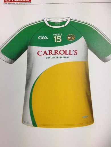 What do you think of the proposed new Offaly jersey?