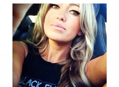 Paulina Gretzky: big on Instagram apparently. 