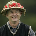 Bill Murray wears a hat. (AP Photo/Marcio Jose Sanchez)