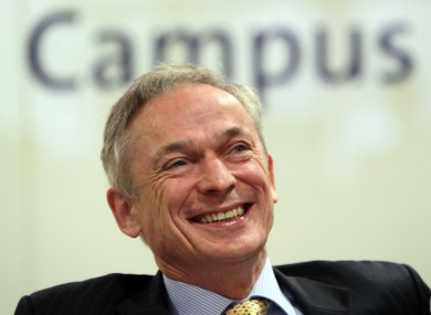 Minister Richard Bruton at the launch of the new campus today.