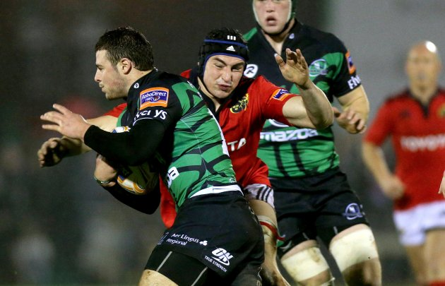 Robbie Henshaw and Tommy O'Donnell 22/12/2012