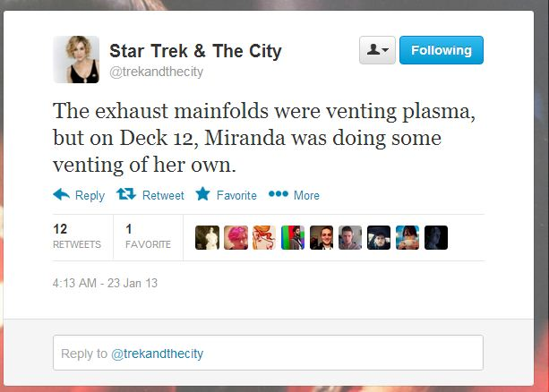 Star Trek and the City 1