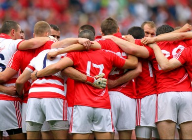 The Cork senior footballers.