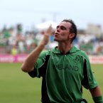 The all-rounder, born in Australia, captained Ireland to World Cup victory over Pakistan and guided them to the knock-out stages. (INPHO/Morgan Treacy).