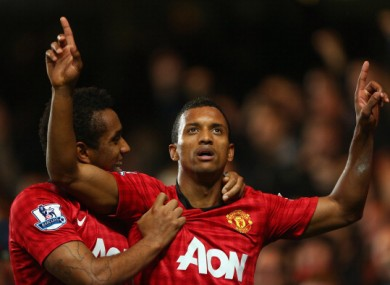 Nani: future at Old Trafford in doubt.
