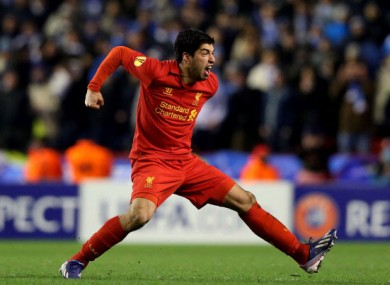 Luis Suarez: in demand.