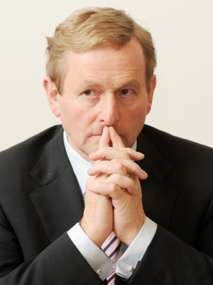 Taoiseach and Fine Gael leader Enda Kenny