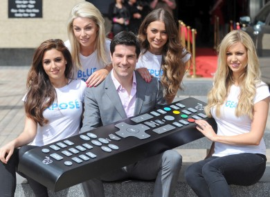 Craig Doyle and these Irish models will be pleased with UPC's growth in 2012.