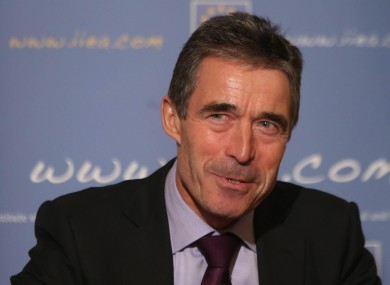 Anders Fogh Rasmussen speaking at the Institute of International and European Affairs in Dublin last night