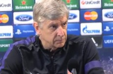 'There are a lot of experts who are not always right' — Arsene Wenger fumes at angry press conference