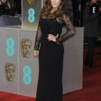 Caroline Flack (the one who went out with Harry Styles) at the BAFTAs. 