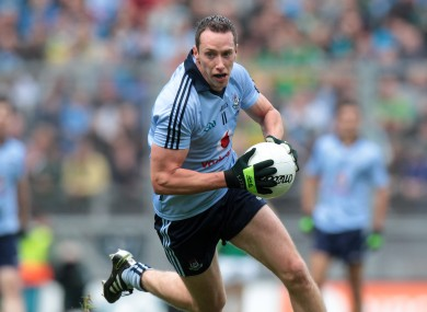 Barry Cahill in action for Dublin in the 2011 All-Ireland final.