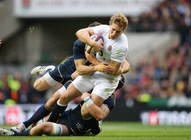 Billy Twelvetrees scored on his debut against Scotland