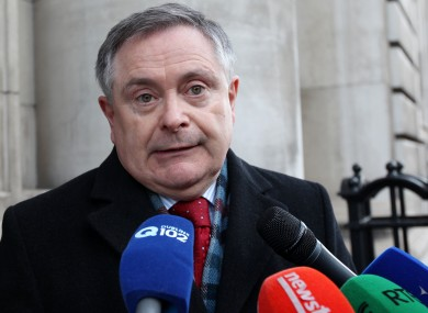 Public Expenditure minister Brendan Howlin said he was prepared to legislate for pay cuts if no deal could be reached with public sector unions.