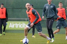 Sammon on the menu: Derby striker set for debut against Poland