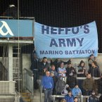 Dublin fans pay homage to Kevin Heffernan. Pic: INPHO/Ryan Byrne