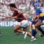 The original trend-setter, McInerney was a dashing wing-back always resplendent in white boots. Here he is in action in the 1989 All-Ireland semi-final.