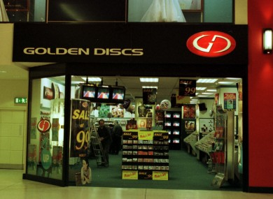 Remember when there was a Golden Discs in the Jervis Centre?