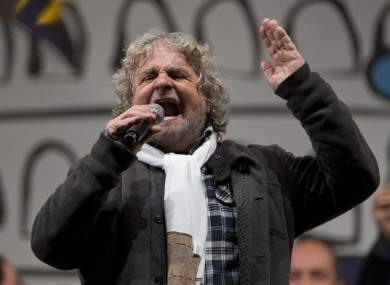 Former TV comedian Beppe Grillo has emerged as the star of the 2013 election, after his new 'Five Star Alliance' made it impossible for either of the two main sides to form a government.