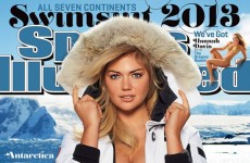 It's official: Kate Upton is on the cover of the 2013 Sports Illustrated Swimsuit Issue