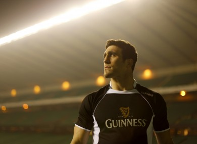 Scotland's Kelly Brown launched the GUINNESS Made of More RBS 6 Nations campaign.