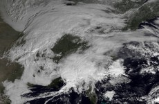 Transatlantic flights affected by storm on US east coast