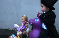 Presenting the 2013 Oscar nominees… as re-enacted by a toddler