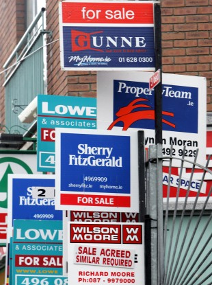 File image of sale signs.