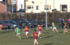 VIDEO: Gaelic football tekkers from Marty Clarke's old school team
