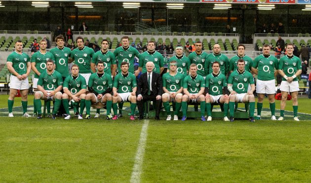 The Ireland team 10/2/2013