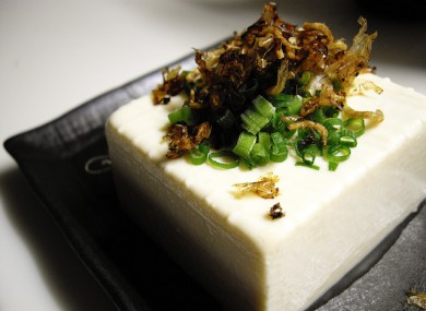 Tofu: 'Temple cuisine' keeps it simple.