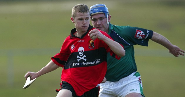 Here's your 'Tommy Walsh playing Fitzgibbon Cup as a young lad' pic of the day