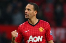 Football reasons, Roy? Rio Ferdinand earns England recall