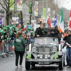 Grand Marshal Nicky Byrne. Photo: Sam Boal/Photocall Ireland