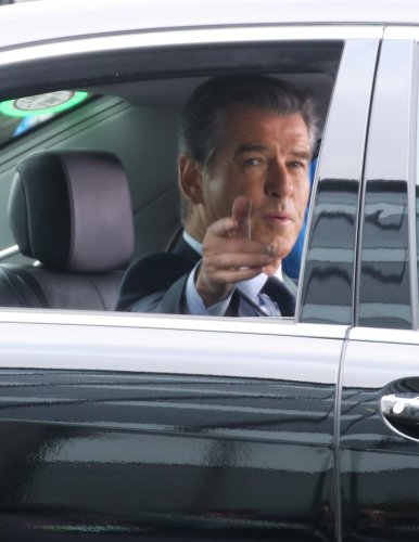 28/2/2013. Former James Bond actor, Pierce Brosnan