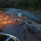 Sara McSweeney sent in this pic of the same road between Carrigtwohill and Leamlara.