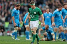 Cited: O'Driscoll to face disciplinary hearing after stamp in Rome