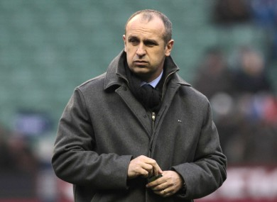France's head coach Philippe Saint-Andre