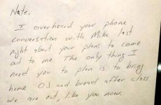 PIC: Amazing note from a dad to his gay son