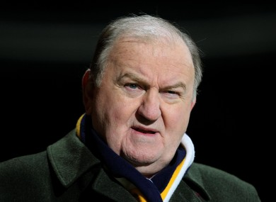 George Hook had coaching stints at Connacht and London Irish.