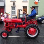 A tractor in the Sligo parade. Pic: Stephen Gillmor. 
