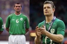 POLL: Who is the bigger Ireland legend – Roy Keane or Brian O'Driscoll?