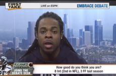 VIDEO: 'I'm better at life than you' – Richard Sherman tears apart Skip Bayless